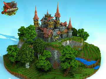 Conquest point - Old Castle | Astalion.net Minecraft Map & Project