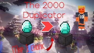 The 2000 Duplicator Minecraft Map & Project