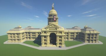 Texas State Capitol Minecraft Map & Project