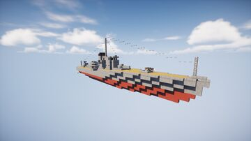 Frigate Köthen Minecraft Map & Project