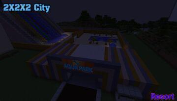2x2x2 city [1.7.10] Minecraft Map & Project