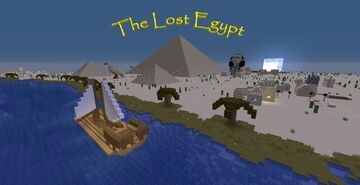 The Lost Egypt - Adventure Map Minecraft Map & Project