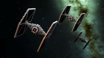 Star Wars - Imperial TIE Fighter  |  UPDATED  |  DOWNLOAD Minecraft Map & Project