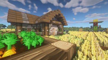 Medieval Farm // Mittelalterliches Bauernhaus Minecraft Map & Project