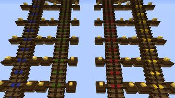Lucky Block 3 Staircase Race Map Minecraft Map & Project
