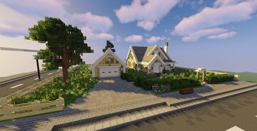Abandoned Hazel View Home | Furniture Competetion Entry Minecraft Map & Project