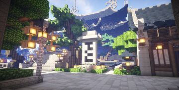 KOR) Oriental of Cantamo 2 - [DOWNLOAD] Minecraft Map & Project