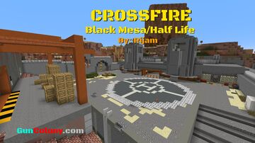 Crossfire (Black Mesa/Half Life) [GunColony.com] Minecraft Map & Project