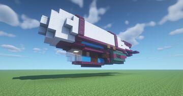 Steampunk Jetship Minecraft Map & Project