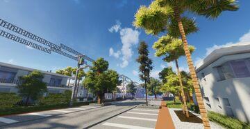 Normandy Isles, Miami Beach, Florida Minecraft Map & Project