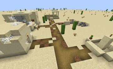 Blasted Landscape Minecraft Map & Project