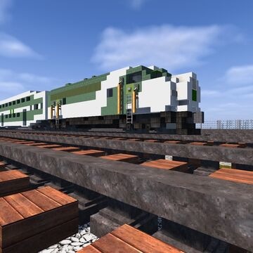 GO Transit Fleet | TRS Minecraft Map & Project