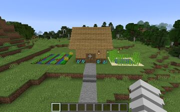 Cozy Cottage Minecraft Map & Project