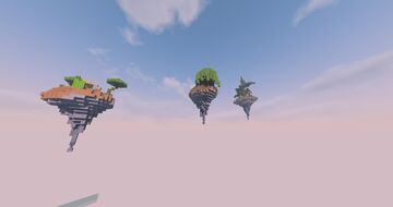 Skyblock islands pack [FREE USE] Minecraft Map & Project