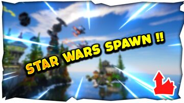 Star Wars Spawn by 1CaribouSauvage Minecraft Map & Project
