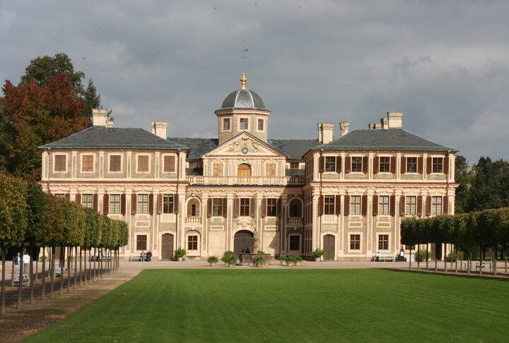 The original Favorite Palace near Rastatt, Germany
