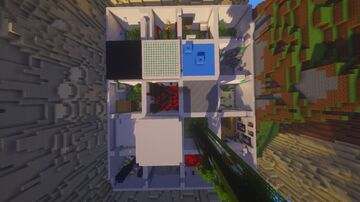 Chunk parkour (SINGLEPLAYER/MULTIPLAYER) READ DISCRIPTION Minecraft Map & Project