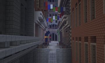 Hawkin's Lane | Devil's Diner | New Lapusia City Minecraft Map & Project