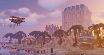 Baroque Themed Beach Resort Minecraft Map & Project