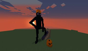 Skateboarder Enderman Minecraft Map & Project