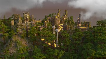 Destroyed city Minecraft Map & Project
