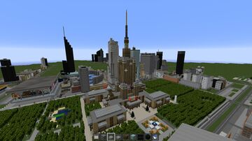 Mini City Warsaw Map (uncomplete) Minecraft Map & Project