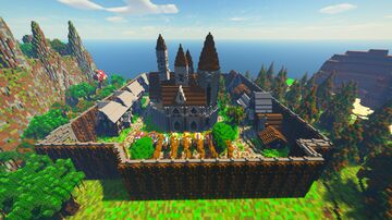 SilverCity Minecraft Map & Project