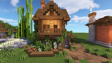 5 Simple Minecraft House Designs Minecraft Map & Project
