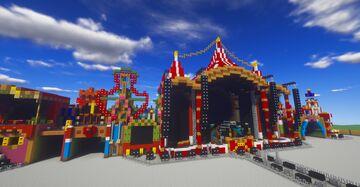 Minecraft | Tomorrowland 2017 Mainstage | MinerBuilder Minecraft Map & Project
