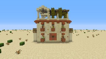 Desert Starter House Minecraft Map & Project