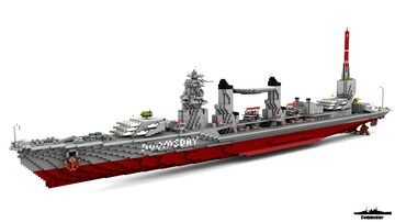 IJN Who is HMS 1:1 Scale Ft Bob0831 Minecraft Map & Project