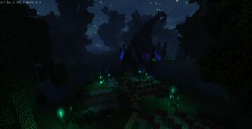 Witch house / hut Minecraft Map & Project