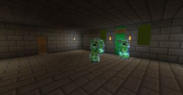 Creeper Dungeon Minecraft Map & Project