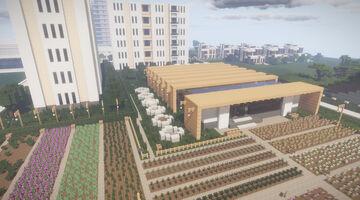 RosalieGreen Garden Centre Minecraft Map & Project