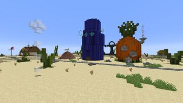 Bikini Bottom - Spongebob Minecraft Map & Project