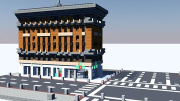 2 West 22nd St | New Limesville City | NL | UCS Minecraft Map & Project