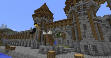 Unfinished City Minecraft Map & Project