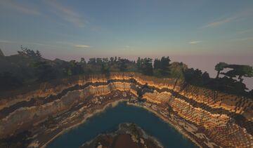 Gorilla Cheek Hills Minecraft Map & Project