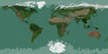 Earth ~1:2000 scale (1.12) Minecraft Map & Project