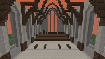 Great Hall Hogwarts Minecraft Map & Project