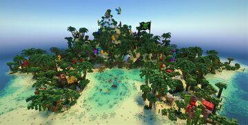 NVIDIA RTX Pirate Treasure Island - kimandjax Minecraft Map & Project