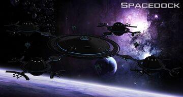 Star Trek: Orbital Spacedock(Almost 3km in diameter!) Minecraft Map & Project