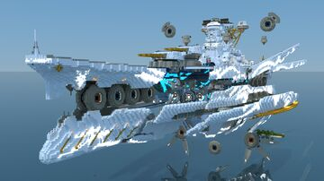 ARP I-401 Combined;Yamato [WIP 95% Downloadable] Minecraft Map & Project
