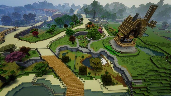 Minecraft Animals ZOO WILDLIFE PARK SmithyMC 1