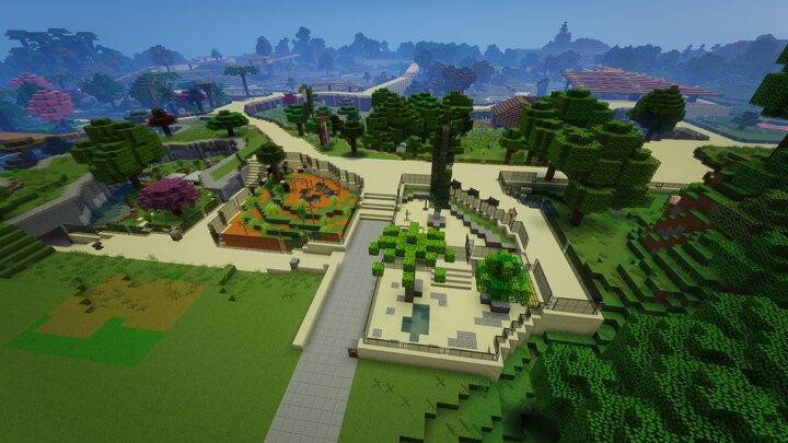 Minecraft Animals ZOO WILDLIFE PARK SmithyMC 3