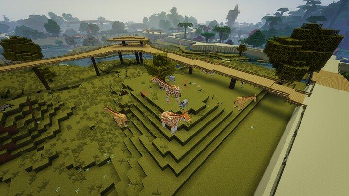 Minecraft Animals ZOO WILDLIFE PARK SmithyMC 7