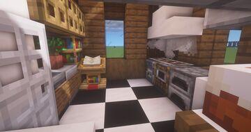 5x5 Kitchen Design + Tutorial Minecraft Map & Project