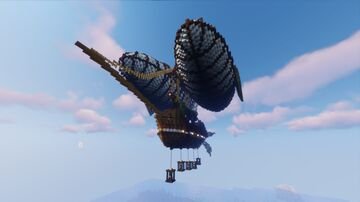 Airship - Wildcraft Staff Hub Minecraft Map & Project