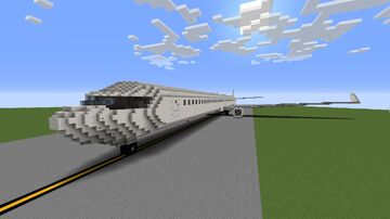 Boeing 737-800 Giant 3:1 Minecraft Map & Project