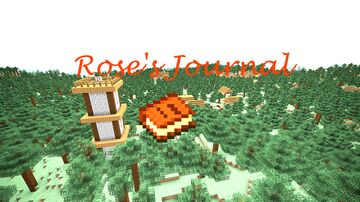 Rose's Journal Minecraft Map & Project